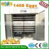 Holding 1408 chicken eggs CE approved cheap infant incubator for sale