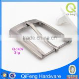 hot sell nickel plated 35mm metal pin belt buckle of fashion bag accessories from china q-1407