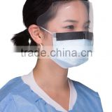 Surgical Mask With Eye Shield,Anti-Fog/Splash Medical Surgical Ear Loop Face Mask