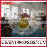 inflatable body zorbing ball for water park,zorb ball . roll inside inflatable ball ,human bubble ball