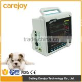 Medical veterinary equipment Portable 8.4 inch veterinary patient monitor for animal