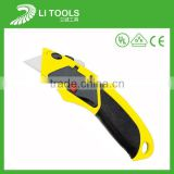 Hot sale heavy duty cutter knife with carbon steel blade