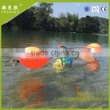 Manufacturer New design Transparent plastic polycarbonate pc kayak /clear fishing boat/ canoe