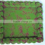 Home Wall to wall decoration 0.5mx0.5m artificial green wall moss foam hanging carpet EPZM05 0908