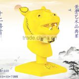 24k gold Tiger Head plated Chinese zodiac