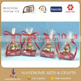 7cm Resin Wholesale Handmade Small Gift Christmas Ornament Figurines Suppliers