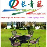 High quality cheap price picnic table top fire pit for outdoor wooden burning fire pit table