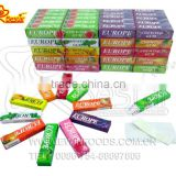 Hot Sale!!! Europe Cup 5 Sticks Chewing Gum Candy