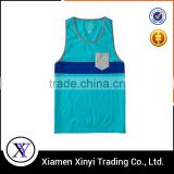 Factory Price Custom summer mens fashion cotton tank top