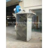 PET PP PE washing line paper / Bottle flake Zigzag separator of Plastic Auxiliary Machine