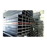 16Mn STK500 STK400 Steel Square Tube , ERW Steel Pipe For Building Bridge Roof