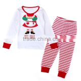 Boutique christmas outfits young wear cute baby winter clothings wholesale