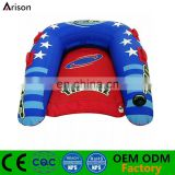 Inflatable U shaped snow board inflatable skiing board inflatable water skiing board