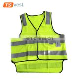 2017 OEM custom outdoor activities reflective safety vest for traffic