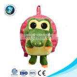 Children's Day Birthday Gift Cute Cartoon Crocodile Plush Toy Custom Design Baby Backpacks Kids Bags