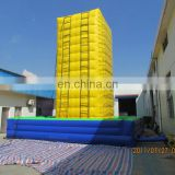 Giant Rockwall climbing mountain/ Hot seller inflatable climbing wall from TOP/exciting outdoor sport games
