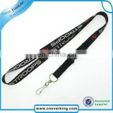 3/8 polyester mini lanyard for promotion gift