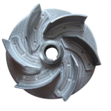 Plastic pump parts impeller for water pump