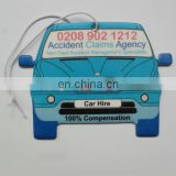 Custom printing car air freshener for car hire service