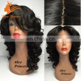 7A Grade Natural Scalp Wig Natual Body Wave Silk Base Lace Front Wig Virgin Brazlian Hair Silk Top Wig With Baby Hair