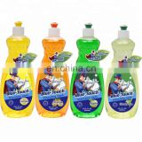 2019 new product kitchen powerful cleaning Dishwashing Liquid with GreenTea 600ml