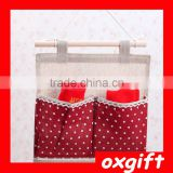 Oxgift Various colors fabric store small objects pouch