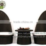Handmade Wicker Rattan Outdoor Balcony Furniture