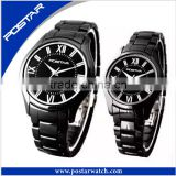 Black Ceramic watches Classical Fashion Men And Women Wear Wrist Watch