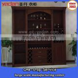 home furniture wooden wine display cabinet