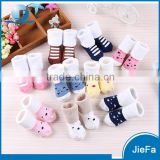 Baby's high quality cartoon wool warm cotton socks
