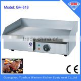 Factory direct hot selling commercial table top electric flat plate griddle pan
