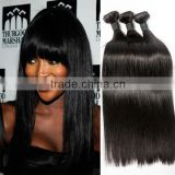 Natural color straight african human hair extensions human hair weave vendors sew in human hair extensions blonde