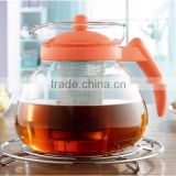 Promotional Handmade Drinking Heat Resistant Glass Teapot