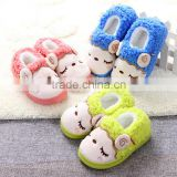 Home cotton slippers winter new cute little baby cotton slippers children's shoes baby sheep shoes