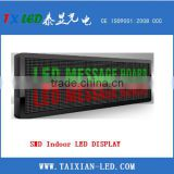 SMD P7.62 red and green dual color led display board indoor advertising led display screen modules