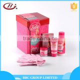 BBC Along Came Betty Gift Sets OEM 001 Wholesale natural moisturizing girls body care set whitening body lotion