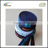 Top quality custom jacquard polyester woven elastic webbing band