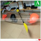 One person custom fishing bait boat with paddle Chinese manufacturer