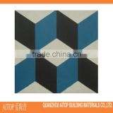 Grey blue 3d texture printing heavy cement floor tile 200x200mm interior home floor decor cement body tile wholesale concrete