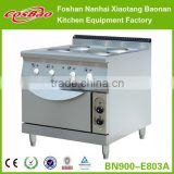 Restaurant Kitchen Equipment Combination Electric Hot Plat Cooker With Oven(EGO hot plate)