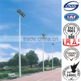 High Mast Lamp Pole used for Highway, Commercial Areas, Seaport, AirPort, Parking Lot, Stadium, Square,