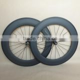 ruote carbonio basalt clincher carbon wheels 88mm road bike wheelset 23mm wide aero spokes