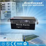 UL Solar/Photovoltaic/water pump 12v 300ah agm battery