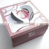 Corrugated cake box