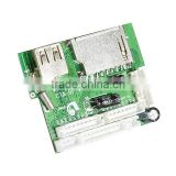 Factory direct usb micro sd card mp3 player circuit board