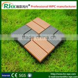 non-slip wood composite decking/Wood plastic composite decking tile with high quality and cheap price