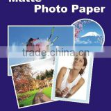 105g cast coated matte inkjet photo paper(JM105), inkjet paper