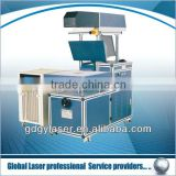 3 axes dynamic focus non-metal CO2 laser marking machine