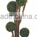 artificial boxwood ball,.artificial boxwood topiary, artificial melon grass Ball, artificial plants