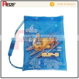 New design cartoon clear pvc plastic waterproof bag for swimwear packaging